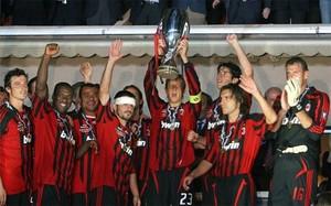 Barça y Milan han conquistado cinco veces la Supercopa de Europa