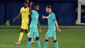 El Barça se reencontró con la victoria fuera de casa