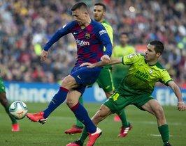 FC. Barcelona, 5 - SD. Eibar, 0 LaLiga J. 25