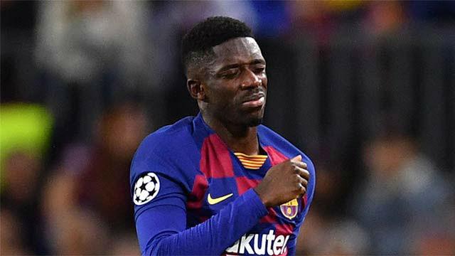 El Barcelona pierde a Dembélé para medio año