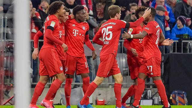 El Bayern se llevó los tres puntos ante el Paderborn