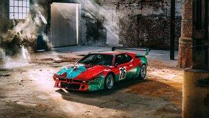 BMW M1 pintado por Andy Warhol.