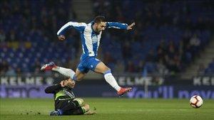 Borja Iglesias quiere seguir en el Espanyol