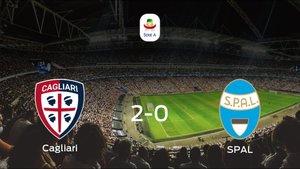 El Cagliari se hace fuerte en casa y derrota al SPAL
