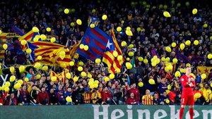 El Camp Nou puede vivir una jornada reivindicativa el próximo 18 de diciembre
