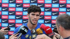 Carles Aleñá, jugador del Barcelona