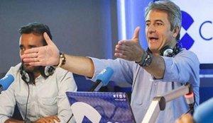 El comentado comentario de Manolo Lama sobre Pablo Iglesias en pleno Clásico