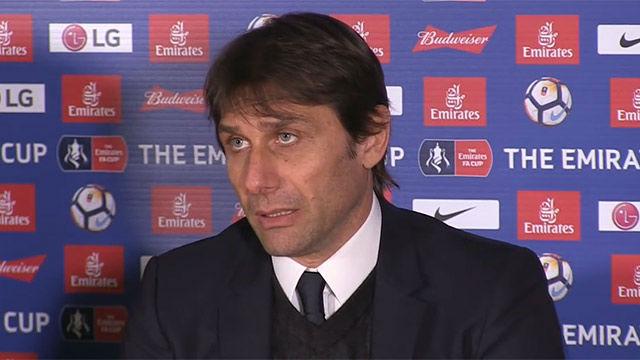 Conte: Jugar contra el Barcelona es un gran reto para nosotros