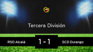 Durango y Alcalá empatan 1-1