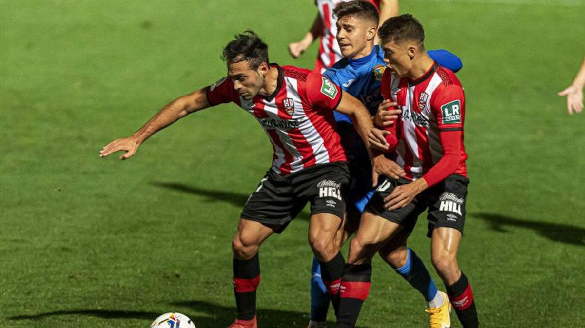 Empate sin goles entre Fuenlabrada y Logroñés