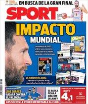Esta es la portada de Sport de este 13 de septiembre