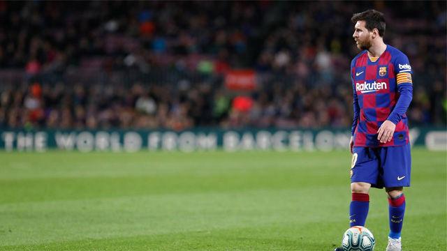 Este es el 11 del FC Barcelona contra el Eibar