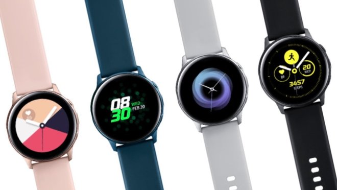 Samsung presenta el Galaxy Watch Active, dos smart bands y los Galaxy Buds