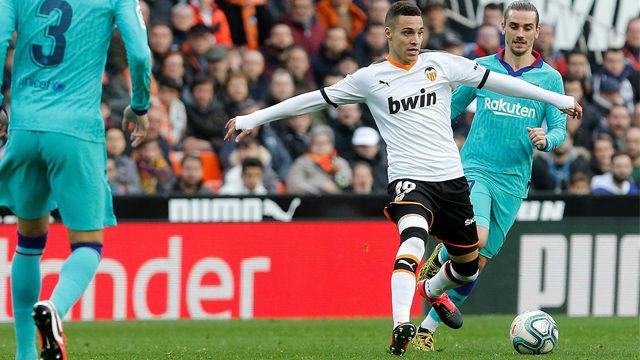 Gran asistencia de Rodrigo en el segundo gol de Valencia