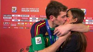 iker Casillas narra la reacción de sus hijos tras ver su mítico beso con Sara Carbonero