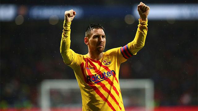 ¡Infinito, universal, eterno, prodigioso, rey...MESSI! Así narró la radio el gol del argentino en el Metropolitano
