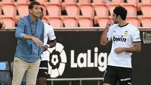 Javi Gracia pide más a futbolistas de la clase de Gonçalo Guedes