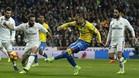 Jesé, en su partido ante el Real Madrid
