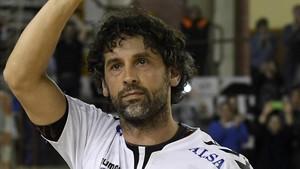 Juanín García no pone fecha a su retirada en el balonmano