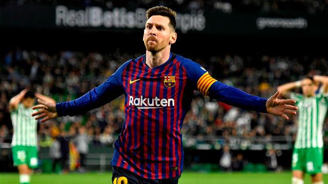 Juzga tú lo de Messi, a nosotros se nos han acabado los calificativos