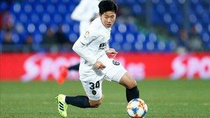 Kang in Lee no regresará de su concentración con Corea del Sur sub 20 para suplir a Cheryshev
