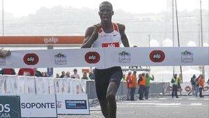 Kiptanui ganó la media maratón de Lisboa en 2018