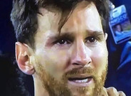 Las lágrimas de Messi tuvieron premio