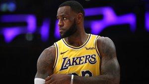 LeBron no disputará la postemporada en la NBA este año
