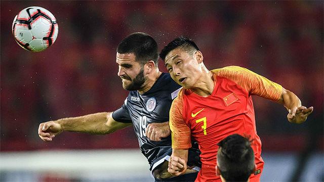 Wu Lei ya brilla con China: golazo ante Guam