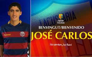El Llagostera ha anunciado el fichaje de José Carlos