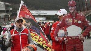 Los aficionados no olvidan a Michael Schumacher, un ídolo en la F1