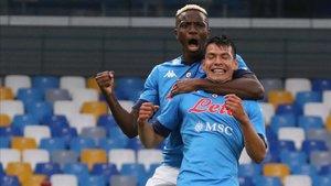Lozano ratificó su buen arranque de curso con dos goles ante el Genoa