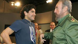 Maradona y Fidel Castro mantenían una gran amistad