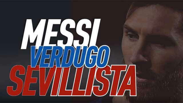 Messi, verdugo sevillista
