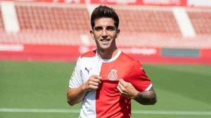 Monchu fue presentado como nuevo jugador del Girona