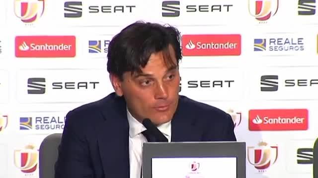 Montella: El Barça tiene jugadores extraterrestres que hoy han jugado a un gran nivel