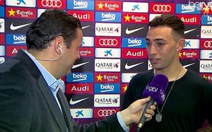Munir está feliz de jugar con la selección española