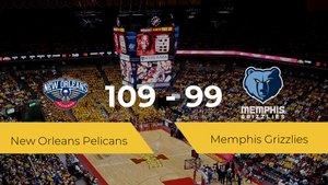 New Orleans Pelicans derrota a Memphis Grizzlies (109-99)