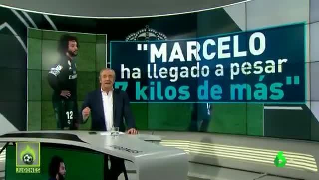 ¿Padece Marcelo de sobrepeso?
