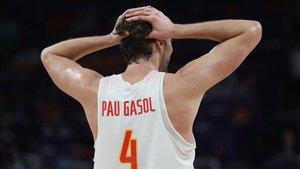 Pau Gasol en el EuroBasket 2017