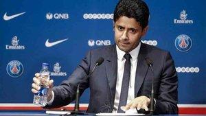 Al presidente del PSG le preguntaron sobre Messi
