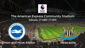 Previa del duelo de la jornada 36: Brighton and Hove Albion contra Newcastle