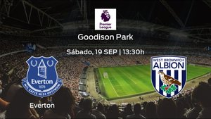 Previa del partido de la jornada 2: Everton - West Bromwich Albion