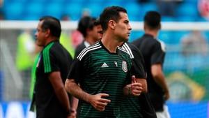 Rafa Márquez titular en cinco mundiales diferentes con México