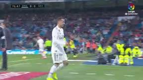 La reacción del Bernabéu cuando Isco saltó al campo