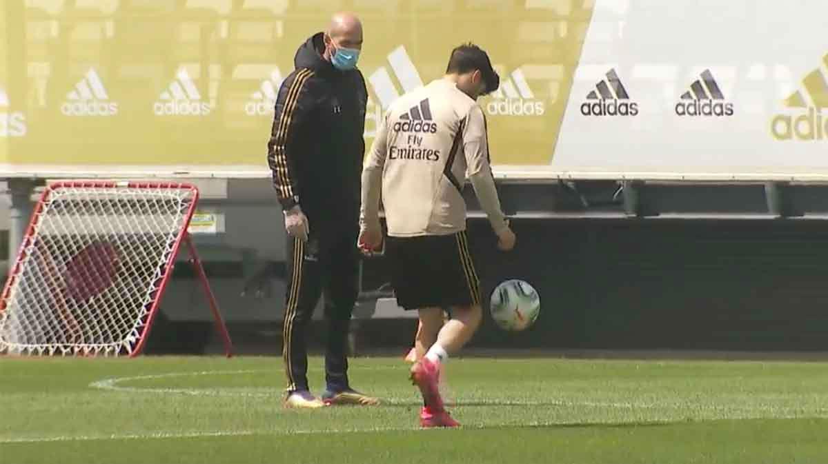 El Real Madrid también vuelve a los entrenamientos