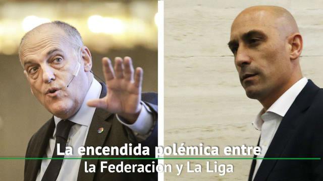 Resurge la controversia entre LaLiga y la Federación