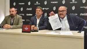 El Reus dejó clara su postura en la comparecencia