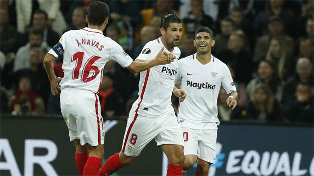 El Sevilla no puede con el Krasnodar