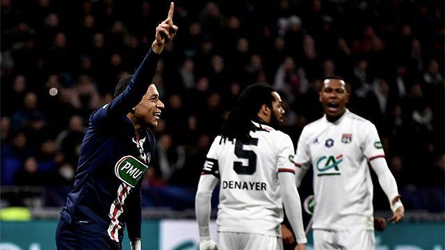 ¡Sin palabras, Mbappé! No te cansarás de verlo: impresionante zancada y golazo en la Copa de Francia